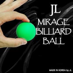 MIRAGE BILLIARD BALLS (Vert, 1 balle) wwww.magiedirecte.com