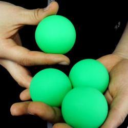 MIRAGE BILLIARD BALLS (Vert, 3 Balles et 1Coquille) wwww.magiedirecte.com