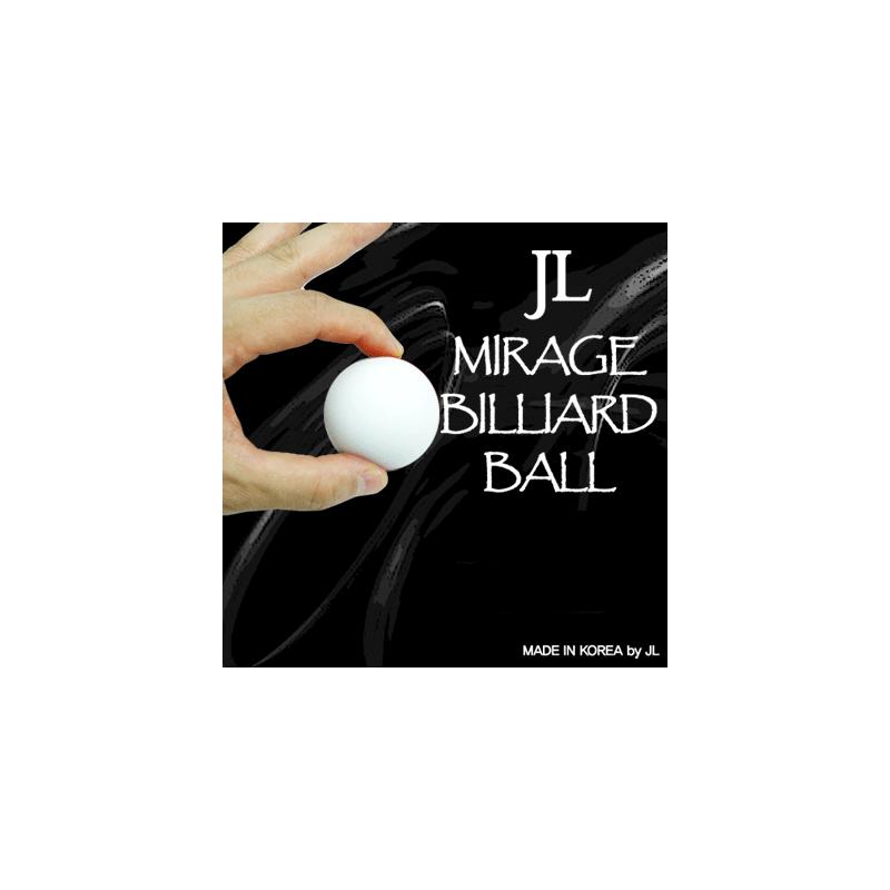 MIRAGE BILLIARD BALLS 2 inch (Blanc, 1 Balle) wwww.magiedirecte.com