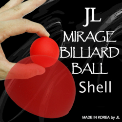 2 Inch Mirage Billiard Balls by JL (RED, shell only) - Trick wwww.magiedirecte.com
