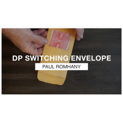 DP SWITCHING ENVELOPE - Paul Romhany wwww.magiedirecte.com