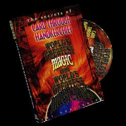 The Card Through Handkerchief (World's Greatest Magic) - DVD wwww.magiedirecte.com
