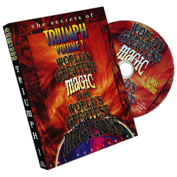 Triumph Vol. 1 (World's Greatest Magic) by L&L Publishing - DVD wwww.magiedirecte.com