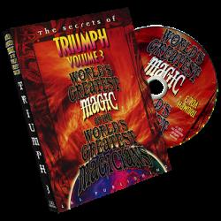 Triumph Vol. 3 (World's Greatest Magic) by L&L Publishing - DVD wwww.magiedirecte.com