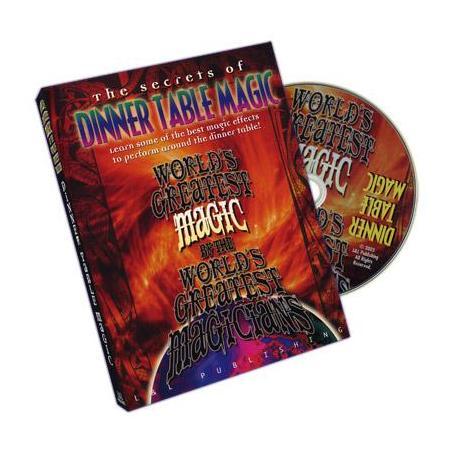 Dinner Table Magic (World's Greatest Magic) - DVD wwww.magiedirecte.com