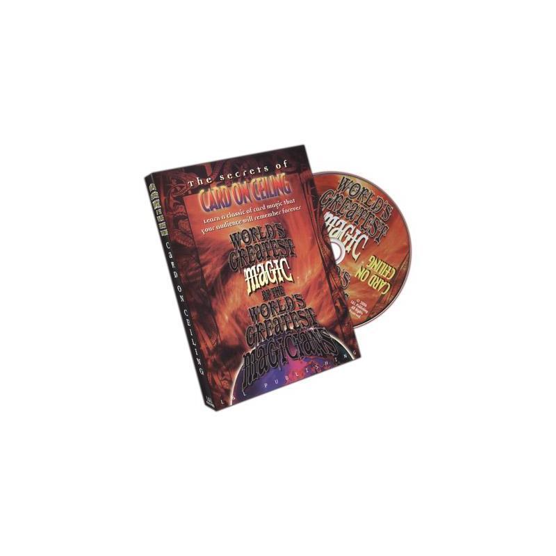 Card On Ceiling (World's Greatest Magic) - DVD wwww.magiedirecte.com