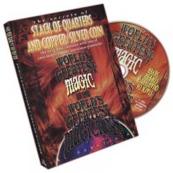 Stack Of Quarters And Copper/Silver Coin (World's Greatest Magic) - DVD wwww.magiedirecte.com