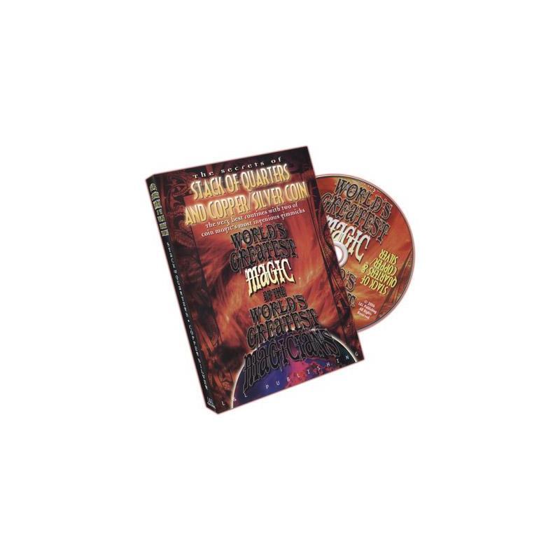 Stack Of Quarters And Copper/Silver Coin (World's Greatest Magic) - DVD wwww.magiedirecte.com