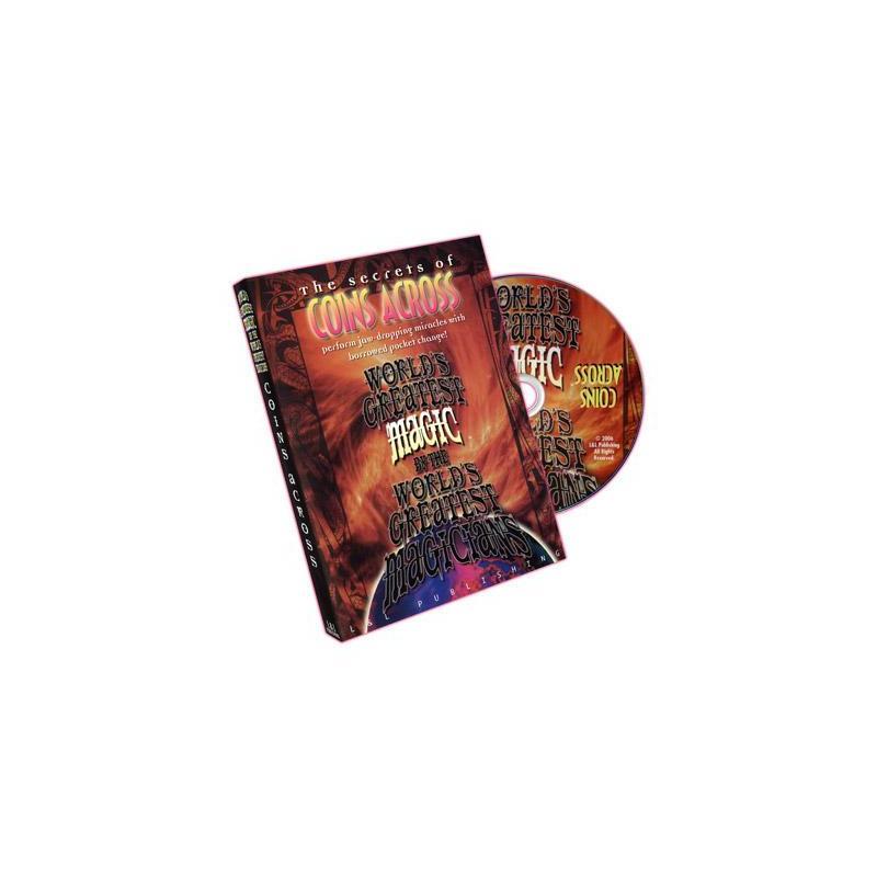Coins Across (World's Greatest Magic) - DVD wwww.magiedirecte.com