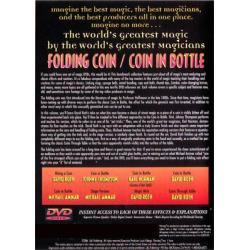 Folding Coin - Coin In Bottle (World's Greatest Magic) - DVD wwww.magiedirecte.com