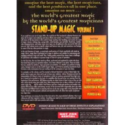 Stand-Up Magic - Volume 1 (World's Greatest Magic) - DVD wwww.magiedirecte.com