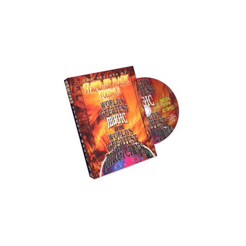 Stand-Up Magic - Volume 3 (World's Greatest Magic)- DVD wwww.magiedirecte.com