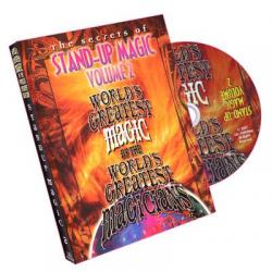 Stand-Up Magic - Volume 2 (World's Greatest Magic) - DVD wwww.magiedirecte.com