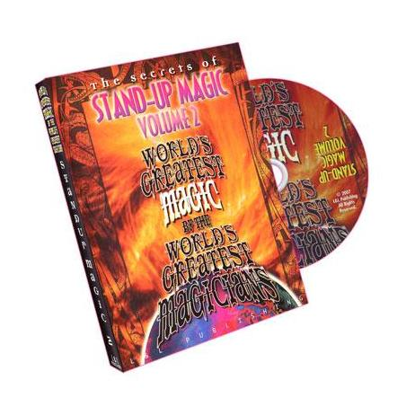 Stand-Up Magic - Volume 2 (World's Greatest Magic) - DVD wwww.magiedirecte.com
