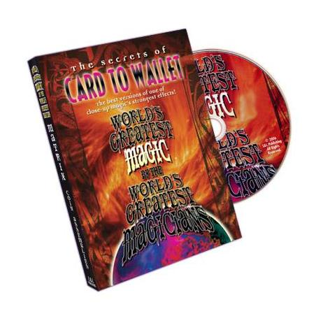 Card To Wallet (World's Greatest Magic) - DVD wwww.magiedirecte.com