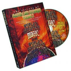 Master Card Technique Volume 2 (World's Greatest Magic) - DVD wwww.magiedirecte.com