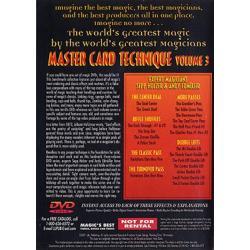 Master Card Technique Volume 3 (World's Greatest Magic) - DVD wwww.magiedirecte.com