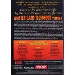 Master Card Technique Volume 1 (World's Greatest Magic) - DVD wwww.magiedirecte.com