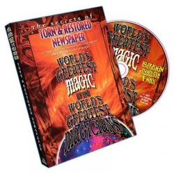 Torn And Restored Newspaper (World's Greatest Magic) - DVD wwww.magiedirecte.com