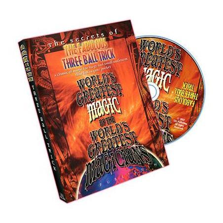 Fabulous Three Ball Trick  (World's Greatest Magic) - DVD wwww.magiedirecte.com