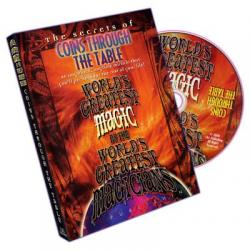 Coins Through Table (World's Greatest Magic) - DVD wwww.magiedirecte.com