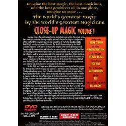 Close Up Magic 1 (World's Greatest Magic) - DVD wwww.magiedirecte.com