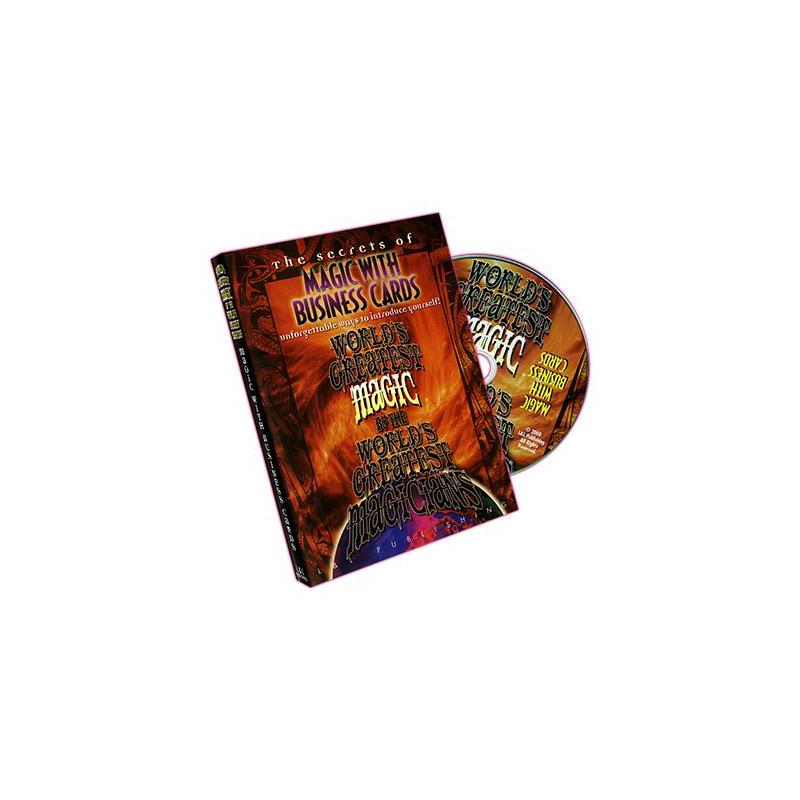 Magic with Business Cards (World's Greatest Magic) - DVD wwww.magiedirecte.com