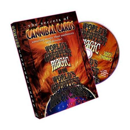 Cannibal Cards (World's Greatest Magic) - DVD wwww.magiedirecte.com
