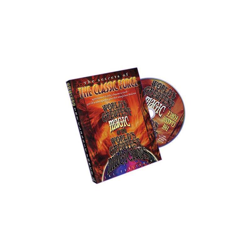 The Classic Force (World's Greatest Magic) - DVD wwww.magiedirecte.com