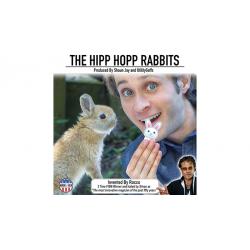 HIPP HOPP RABBIT (1paires)  Rocco & Shaun Jay wwww.magiedirecte.com