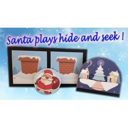 SANTA PLAYS HIDE AND SEEK (PROFESSIONAL MODEL) wwww.magiedirecte.com