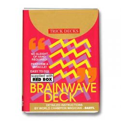 Brainwave Deck Bicycle (Red Case) -  Trick wwww.magiedirecte.com
