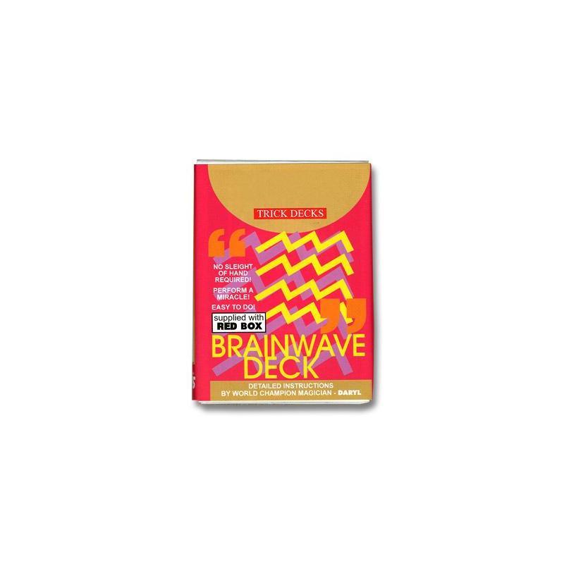 Brainwave Deck Bicycle (Red Case) -  Trick wwww.magiedirecte.com