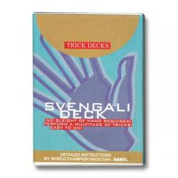 Svengali Deck Bicycle Bleu wwww.magiedirecte.com