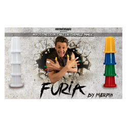 Furia (Gimmicks and Online Instructions) by Merpin - Trick wwww.magiedirecte.com