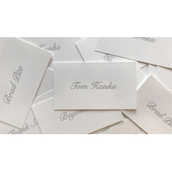 Appearing Business Cards (Celebrity Pack) by Sam Gherman - Mentalisme wwww.magiedirecte.com