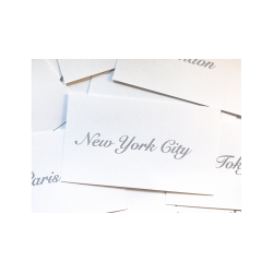 Appearing Business Cards (City Pack) by Sam Gherman - Trick wwww.magiedirecte.com