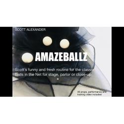 Amazeballz de Scott Alexander and Puck - MENTALISME wwww.magiedirecte.com