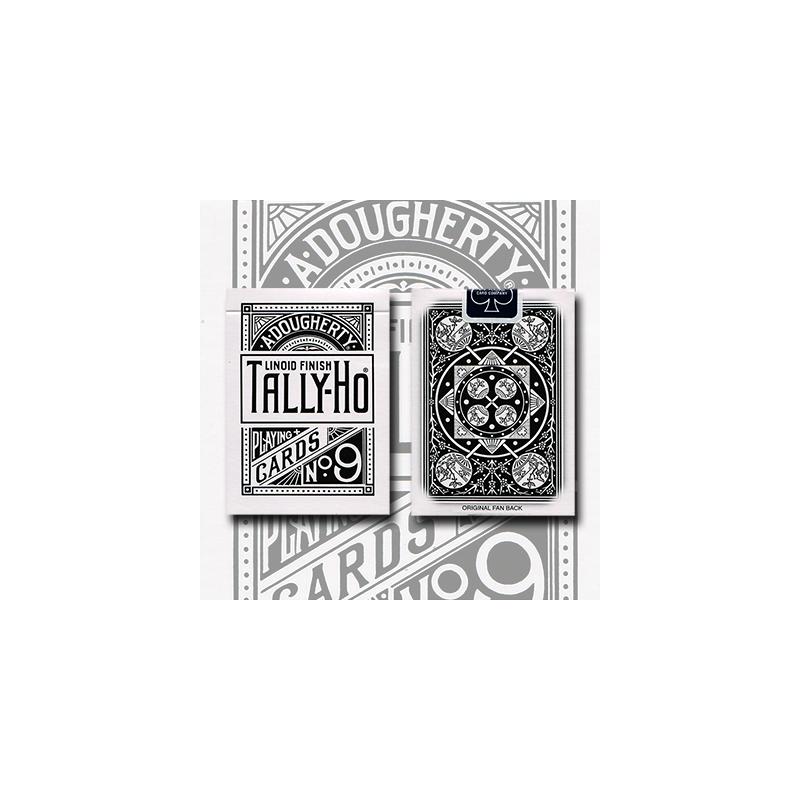 Tally Ho Reverse Fan back (White) Limited Ed. by  Aloy Studios / USPCC wwww.magiedirecte.com