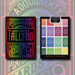 Spectrum Tally Ho Deck by US Playing Card Co. wwww.magiedirecte.com