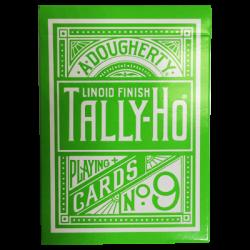 Tally Ho Reverse Circle back (Vert) Limited Ed. by Aloy Studios / USPCC wwww.magiedirecte.com
