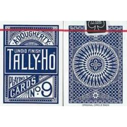 Cartes Tally Ho Circle Back (Bleu) wwww.magiedirecte.com