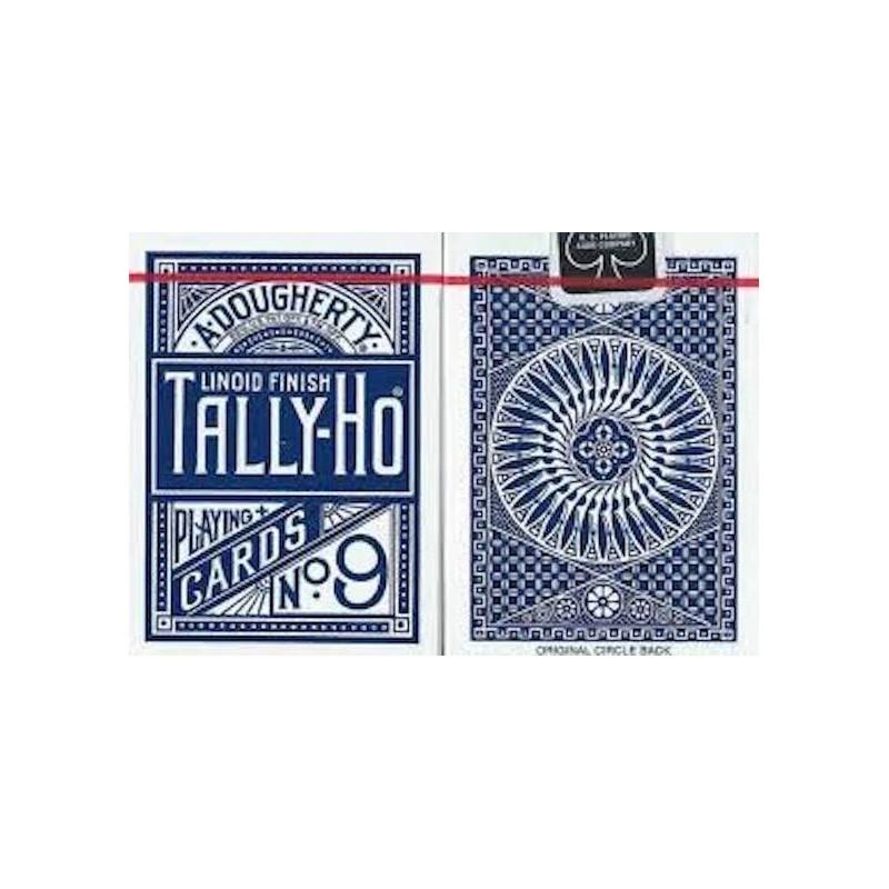 Cartes Tally Ho Circle Back (Bleu) wwww.magiedirecte.com
