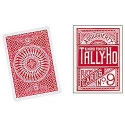 Cartes Tally Ho Circle Back (Rouge) wwww.magiedirecte.com