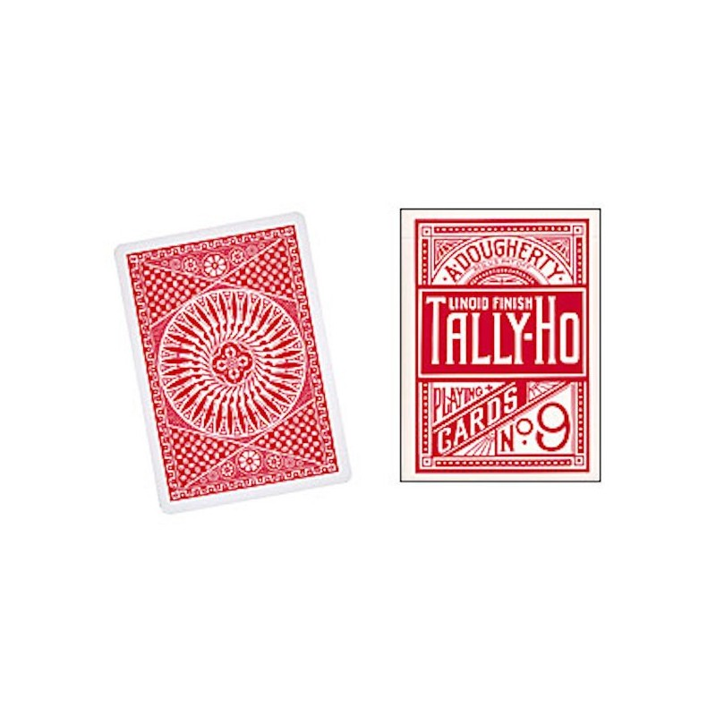 Cartes Tally Ho Circle Back (Rouge) wwww.magiedirecte.com