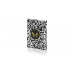 Limited Edition Butterfly Playing Cards Marked (Black and Gold) by Ondrej Psenicka wwww.magiedirecte.com