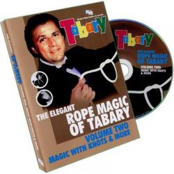Tabary Elegant Rope Magic 2 by Murphy's Magic Supplies, Inc. - DVD wwww.magiedirecte.com