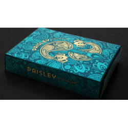 PAISLEY ROYALS (Teal) wwww.magiedirecte.com