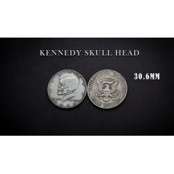 KENNEDY SKULL HEAD COIN wwww.magiedirecte.com