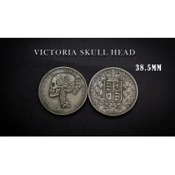 VICTORIA SKULL HEAD COIN wwww.magiedirecte.com